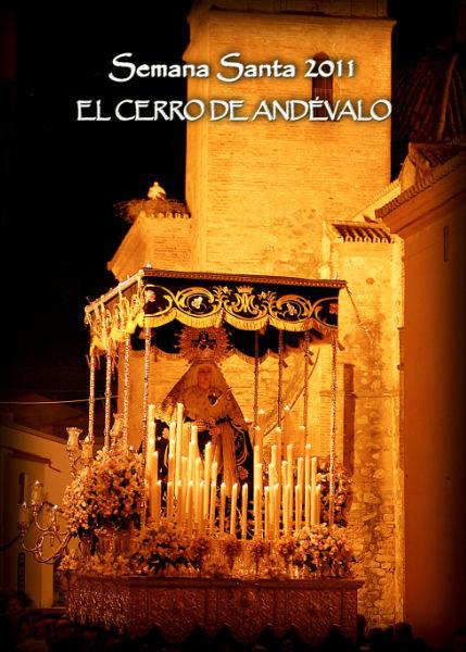 Cartel de Semana Santa 2011 en El Cerro de Andévalo