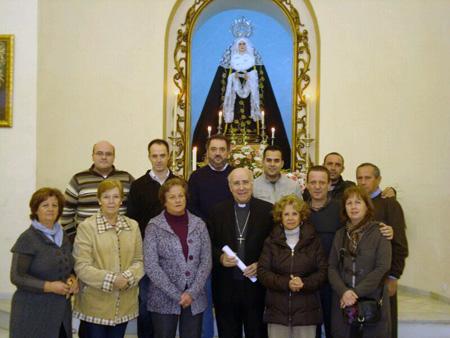 Encuentro con D.José, Obispo de Huelva